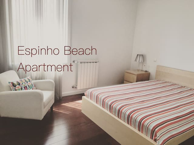 Espinho Beach Apartment - Central location