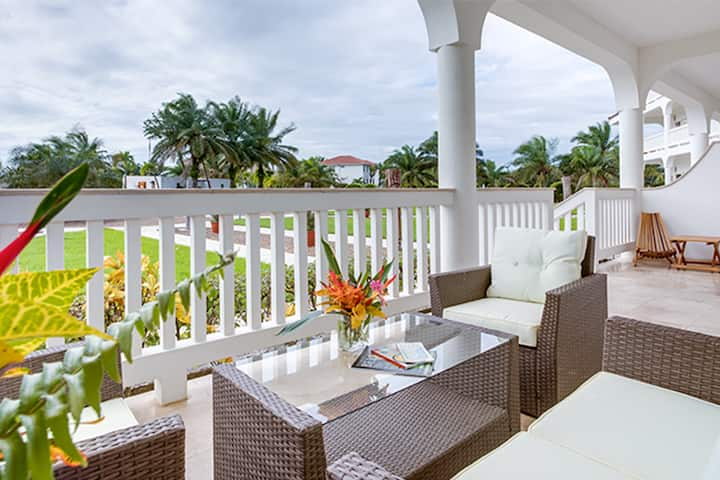Your Own Master Suite with Massive Pool and Private Beach Access!