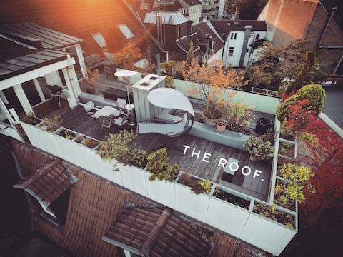 THE ROOF penthouse in the middle of Karlsruhe