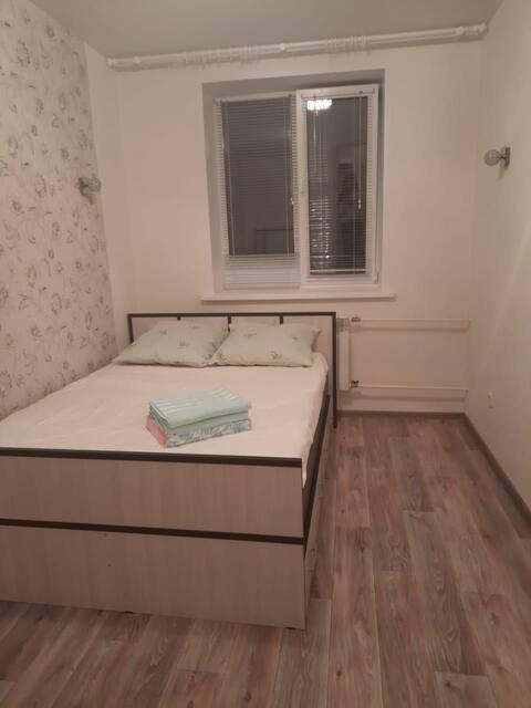 Уютная 1комнатная квартира в новом доме.