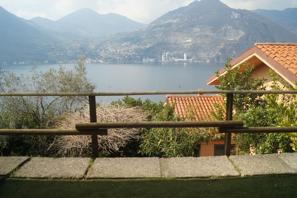 View from the terrace of La Tranquilla