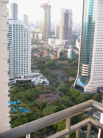 Sudirman Park Apartment 1 bed room