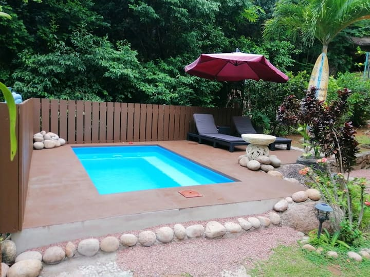 Villa with 4 bedrooms in Anse La Blague, with private pool and enclosed garden - 2 km from the beach