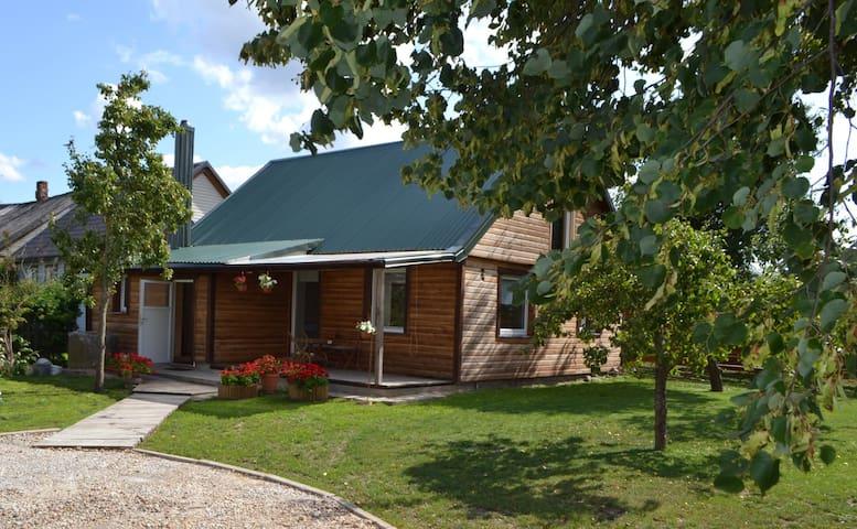 Cozy cottage in Ylakiai