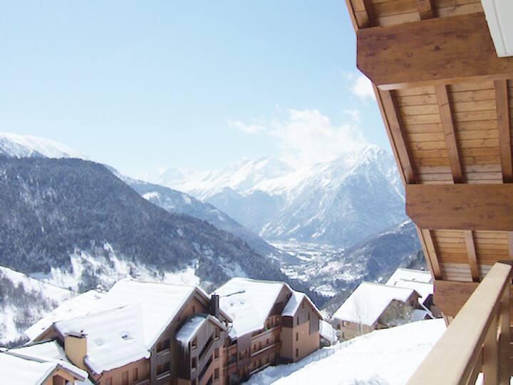 Fantastic 2 bed ski apartment in Vaujany