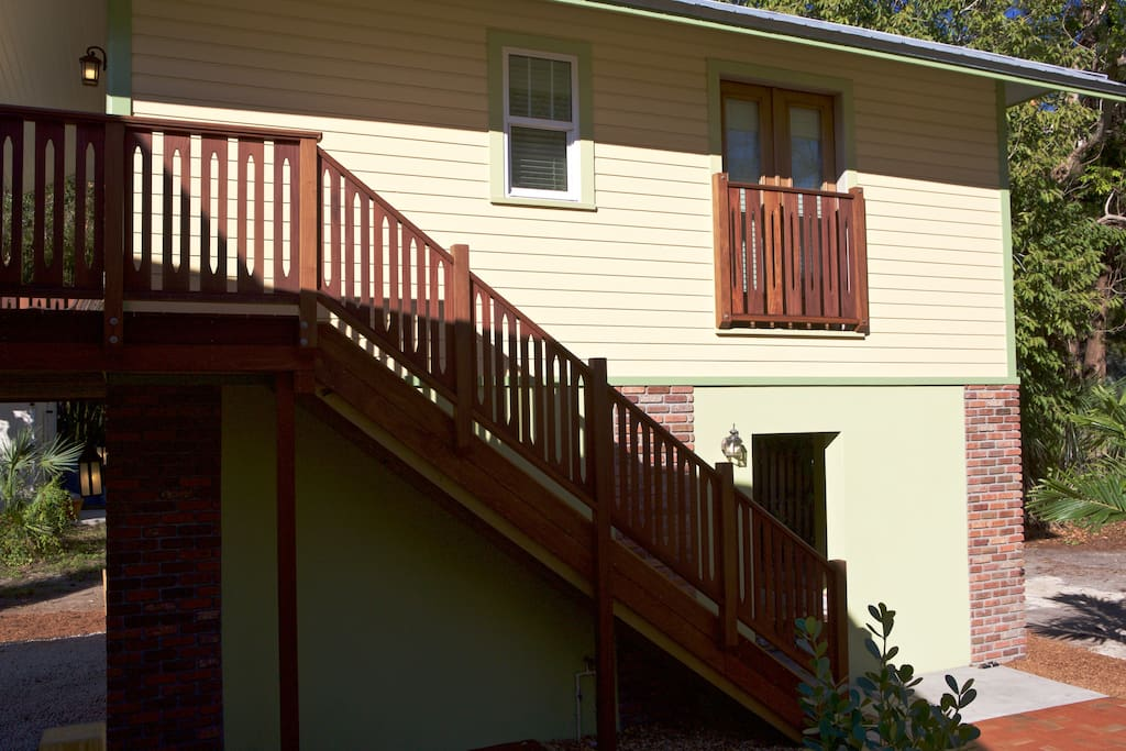 Stair to Guest House
