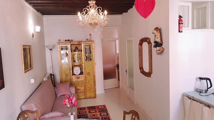 Romantic Flat heart Giardini