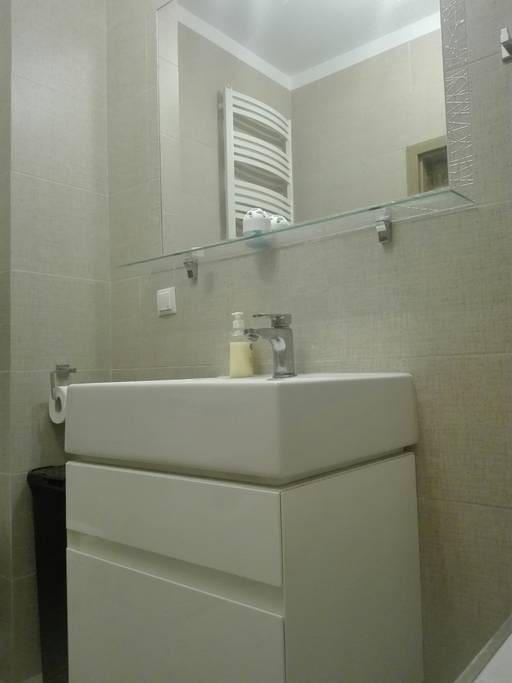 Schludna łazienka