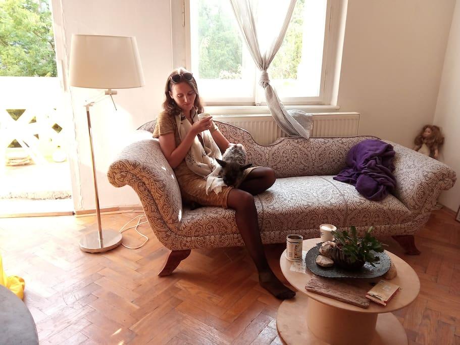 Cosy romantic flat at Vinohrady