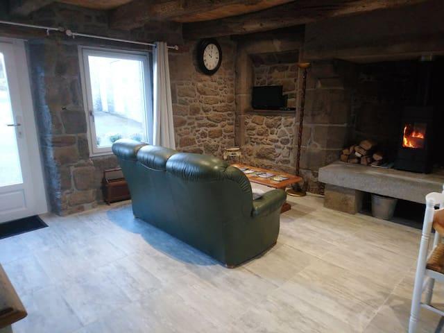 petite maison au coeur de la Bretagne romantique