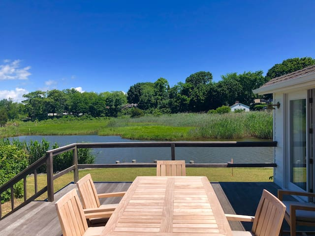 Sag Harbor Water Sunsets & Easy Stroll to Village!