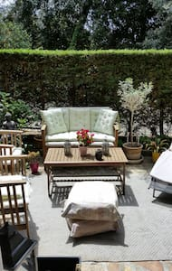 Charming bright flat with private garden - Center - Cannes - Apartment