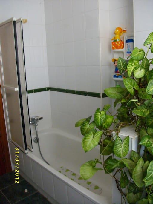 segunda vista del cuarto de baño.