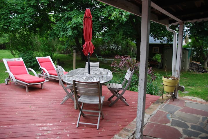 Charming Farmhouse Southold - Southold - Apartamento