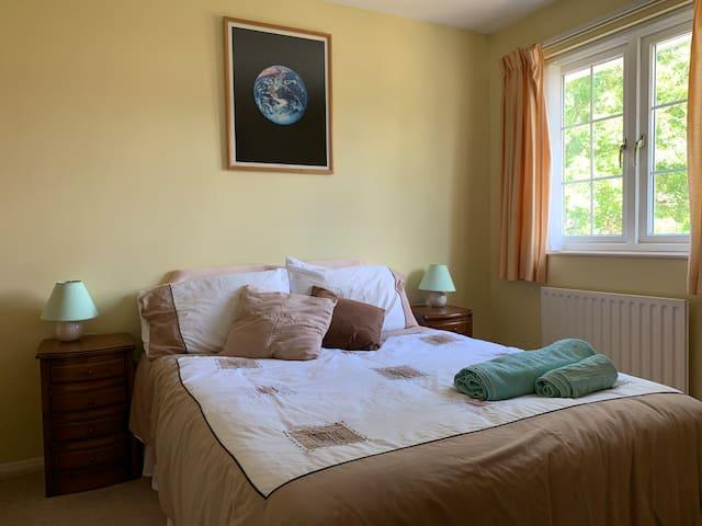 Light sunny double bedroom