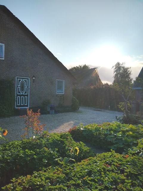De Broekse Heul, rust en een prachtige tuin.