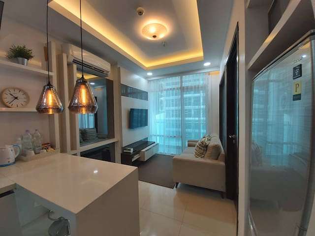 Comfy full equipped 1 BR aprt,Brooklyn Alam Sutera