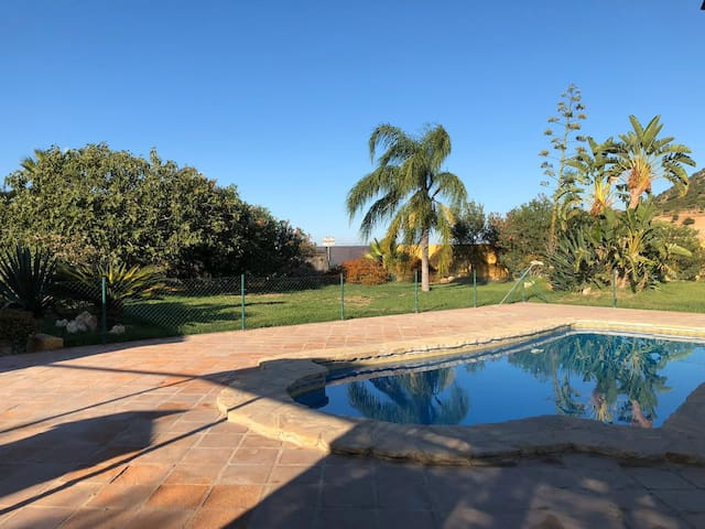 Comfortable Holiday Home La Deseada with Pool, Air Conditioning, Wi-Fi, Terraces & Mountain View; Parking Available, Pets Allowed