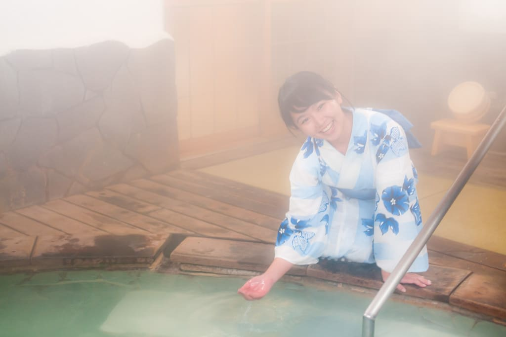 We have 2 Private Hotspring (Private Onsen) inside. Serving 100% Pure Onsen water.
