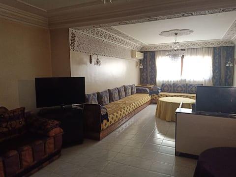 Une chambre luxueuse au centre de Casablanca