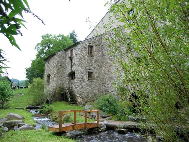Record Water Mill - Southern France - Le Bez - Naturstuga