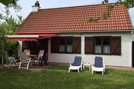 Holiday house at the Belgium Cost - Bredene - 独立屋