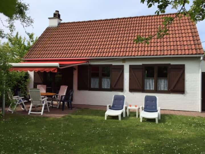 Holiday house at Belgian Coast with free bicycles