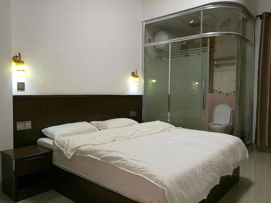 干净整洁,温馨舒适的卧室!
