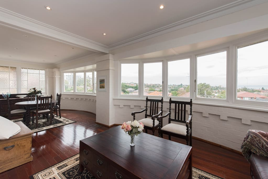 Front room views to Coogee Beach