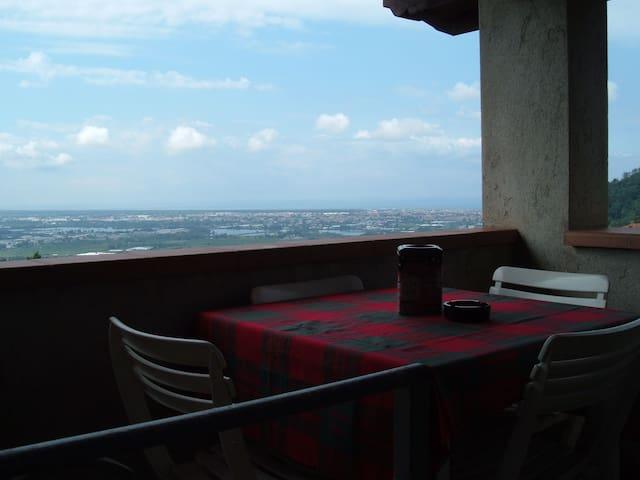 vista mare spettacolare in versilia - Corsanico - Apartmen