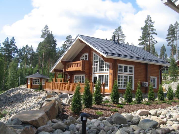 коттедж Tahko hills 160  у озера