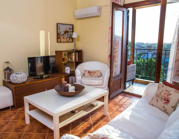Fully equipped apartment with view  - Nikiti - Wohnung