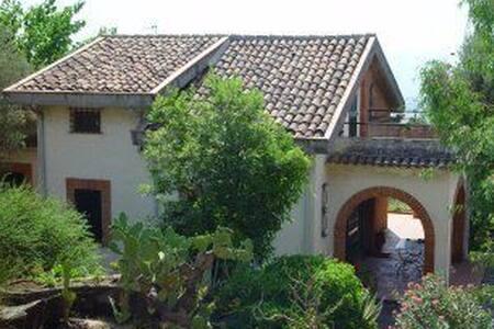 Holiday villa in East Sicily - Santa Venera-portosalvo