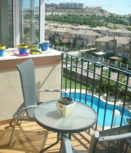 Apartamento con 2hab. y piscina - Altorreal