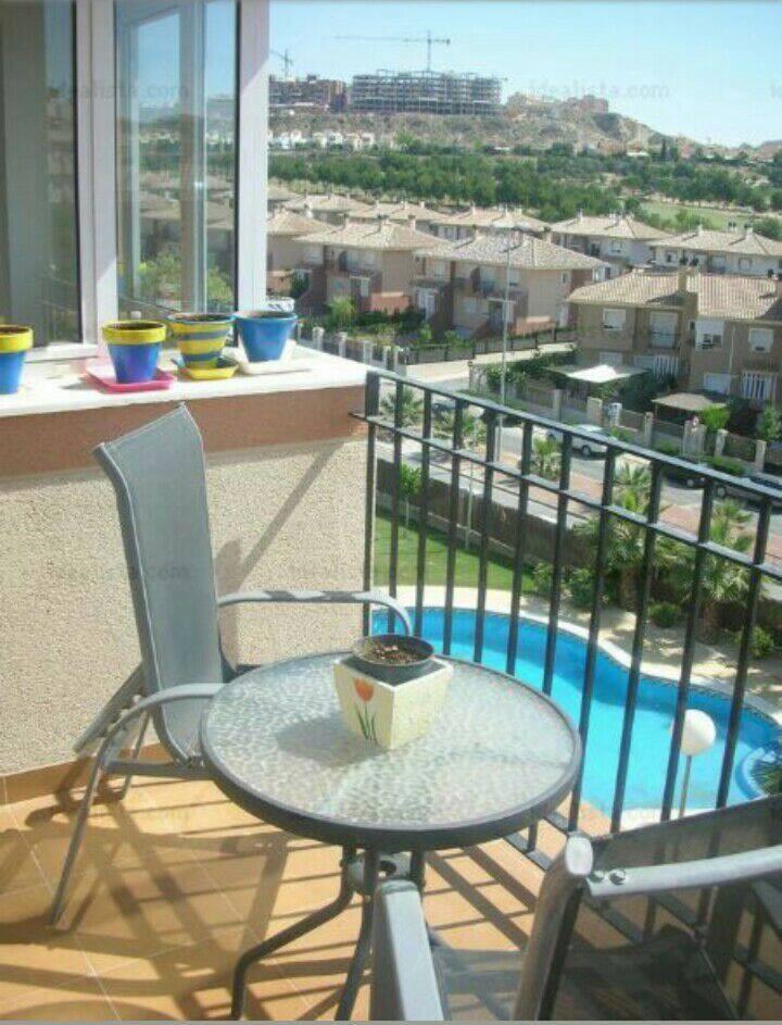 Apartamento con 2hab. y piscina