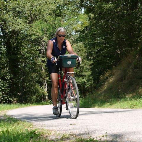 Voor wie rustig, zonder langs racend verkeer wil fietsen