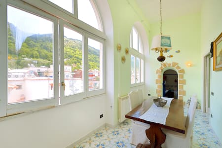 Historical building of700 with view - Anacapri