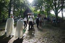 Jaarlijkse Processie in Verghas (7km)