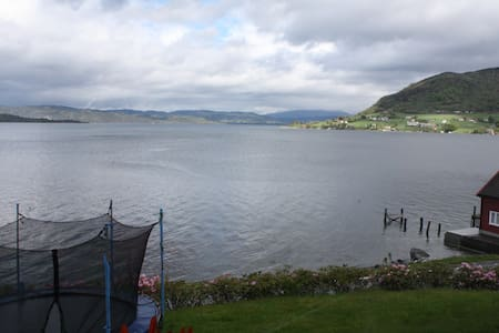 Two bedroomed appt with Fjord view - Rosendal - Apartment