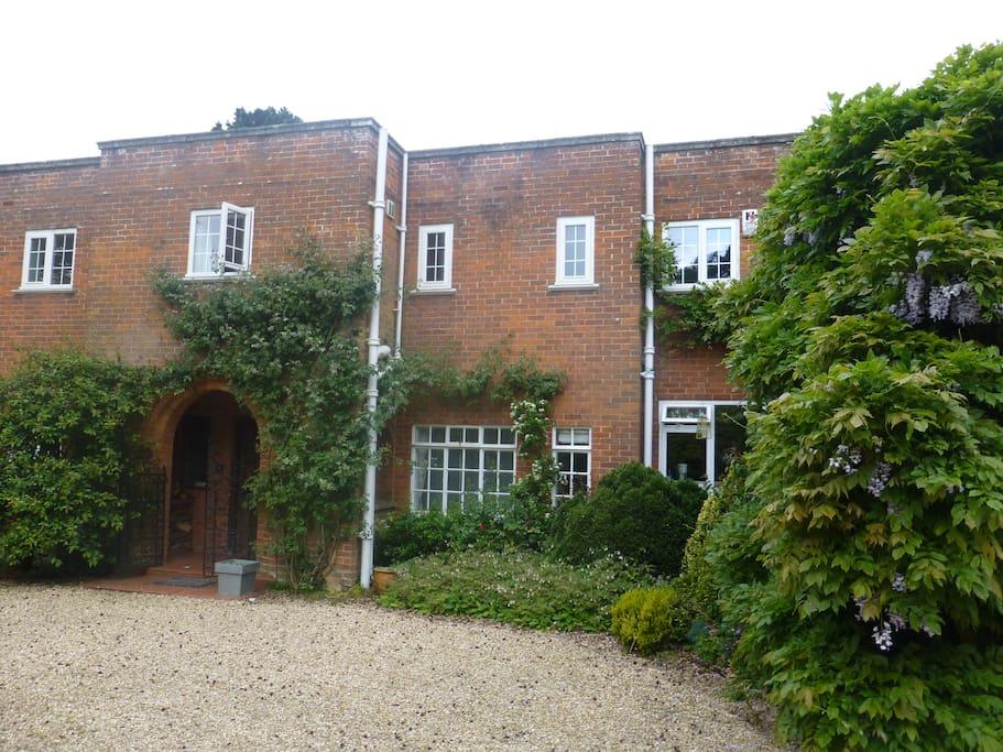 Entrance to Marehill House