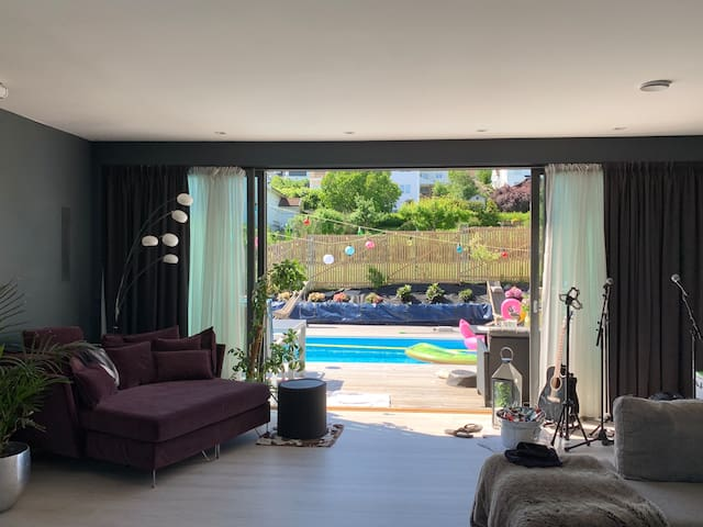 Big social house with pool area