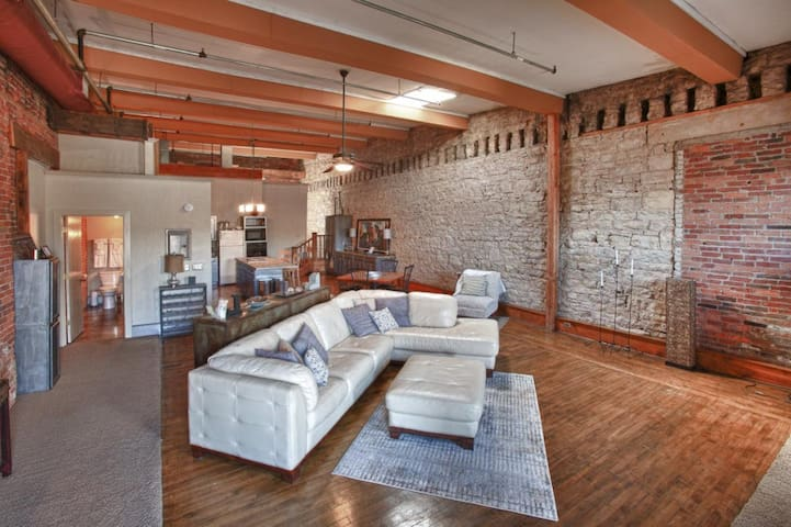 Lift Bridge Loft - Stillwater, MN - Stillwater - Loteng