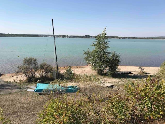 Wohnwagen Abenteuer Camping Urlaub direkt am See