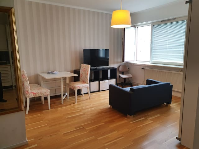 Central apartment close to city and Chalmers