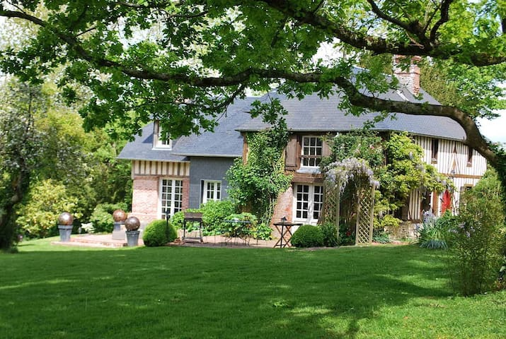 Authentic cottage, 20mn Deauville  - Bonnebosq - Huis