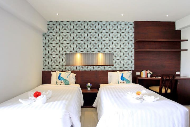 Twin bed located on Sukhumvit Rd. - Бангкок - Квартира
