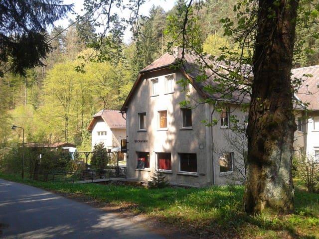 Doppelbett - Zimmer - Bad int. Zi. 1 - Schleifreisen - Castelo