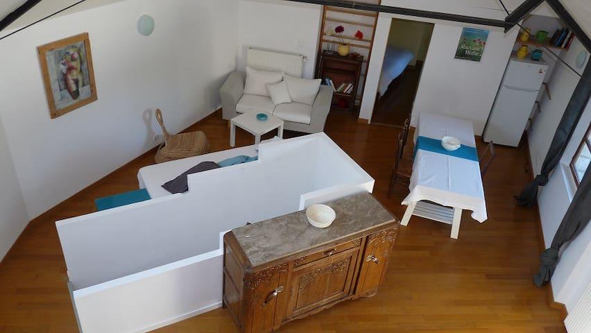 Loft à la campagne - Valaire - Apartment