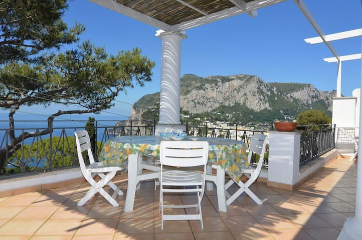 Sea View Villa Capri 3 BDR 2 Baths - Capri - อพาร์ทเมนท์