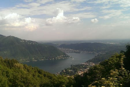 Chalet with fantastic view on Como - Cernobbio